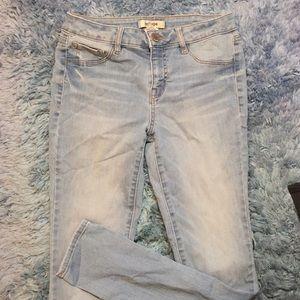 Mid rise refuge jeans